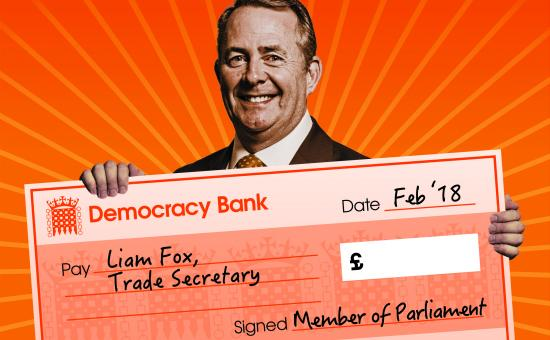 Liam Fox trade secretary